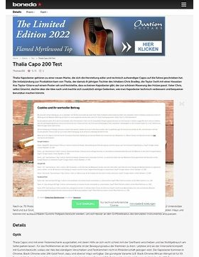 Thalia Capo 200 Test