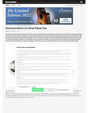 Eastwood Airline Link Wray Tribute