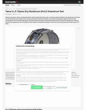 Tama S.L.P. Classic Dry Aluminium 14x5,5 Snaredrum