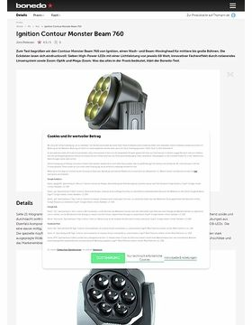 Ignition Contour Monster Beam 760