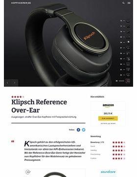 Klipsch Reference Over-Ear Black