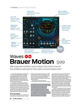 Waves Brauer motion