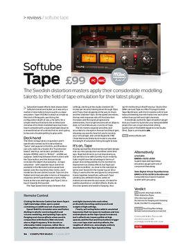 Softube Tape – Musikhaus Thomann