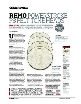 Remo PowerStroke P3 Felt Tone Heads