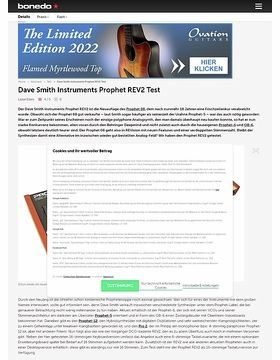 Dave Smith Instruments Prophet REV2