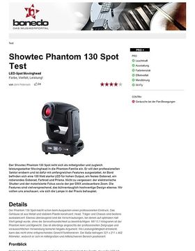 Showtec Phantom 130 Spot