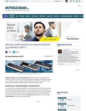 SPECIAL: Korg Kronos vs Yamaha Montage vs Kurzweil Forte 7