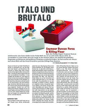 Seymour Duncan Forza & Killing Floor