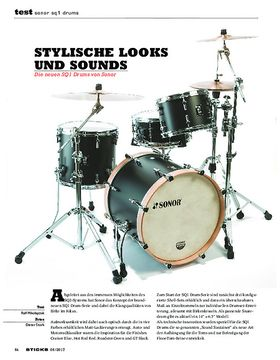 Sonor SQ1 Drums