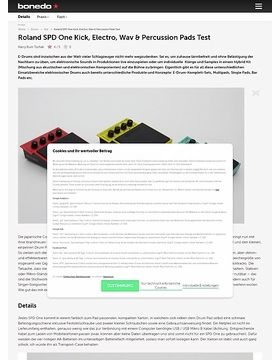 Roland SPD One Kick, Electro, Wav & Percussion Pads