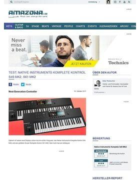 Native Instruments Komplete S49 MK2, S61 MK2