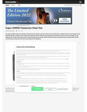 Supro 1699RH Statesman Head