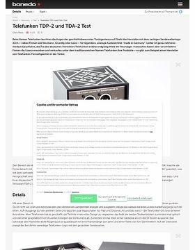 Telefunken TDP-2 und TDA-2