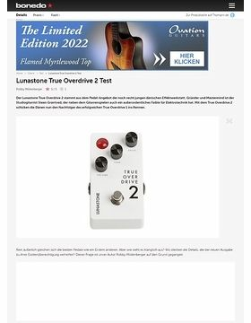 Lunastone True Overdrive 2