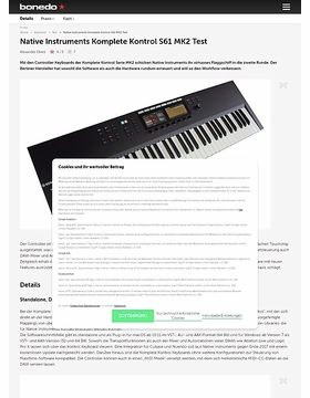 Native Instruments Komplete Kontrol S61