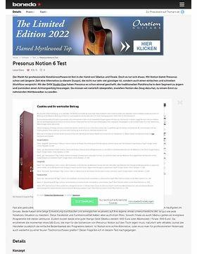 Presonus Notion 6