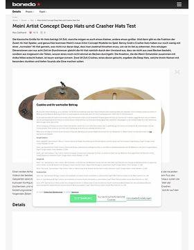 Meinl Artist Concept Deep Hats und Crasher Hats