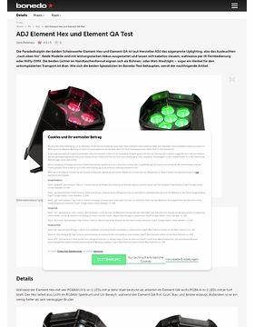 ADJ Element Hex und Element QA