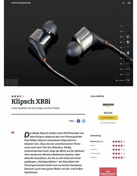 Klipsch XR8i