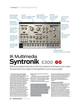 IK Multimedia Syntronik