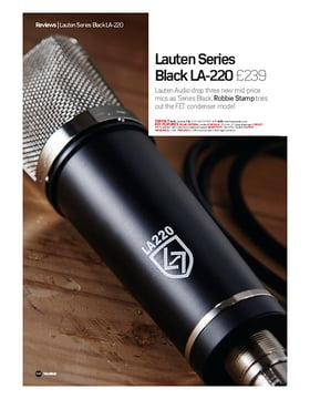 Lauten Series Black LA-220