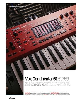 Vox Continental 61