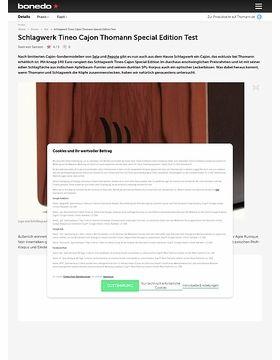 Schlagwerk Tineo Cajon Thomann Special Edition