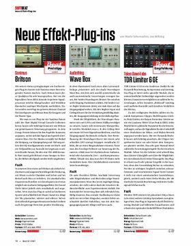 Neue Effekt-Plug-ins