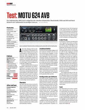 MOTU 624 AVB