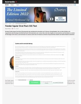 Fender Squier Strat Pack