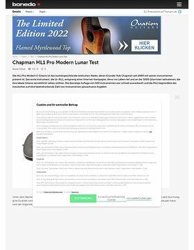 Chapman ML1 Pro Modern Lunar