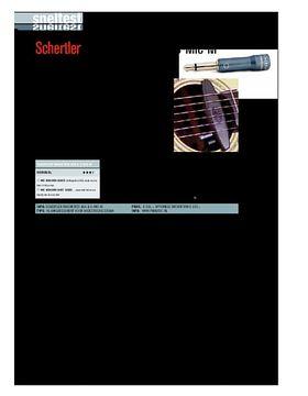Schertler Magnetico AG6 & S-Mic-M