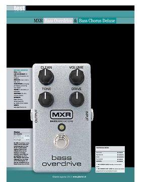 MXR Bass Overdrive & Bass Chorus Deluxe
