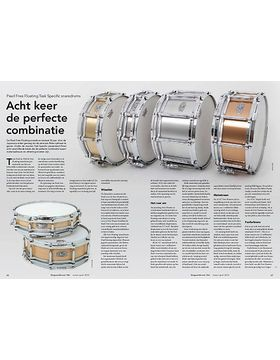 Pearl Free Floating Tast Specific snaredrums