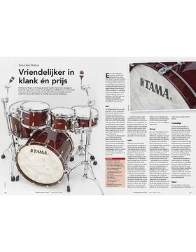 Tama Star Walnut drums