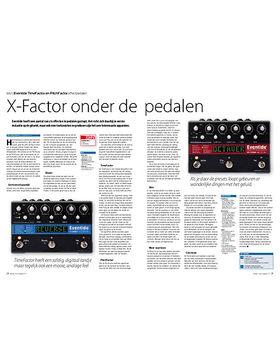 Eventide TimeFactor en PitchFactor effectpedalen