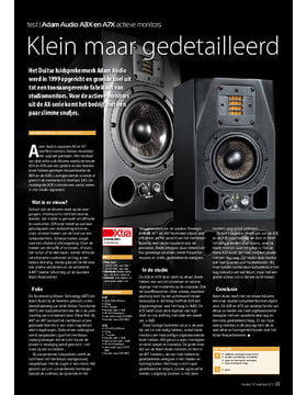Adam Audio A3X en A7X actieve monitors
