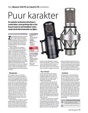 Brauner VM1 PC en Valvet X PC microfoons