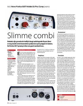 Neve Portico 5017 Mobile DI/Pre/Comp preamp