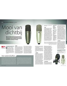 Shure KSM42 & KSM44A microfoons
