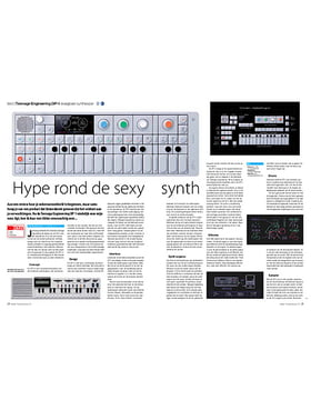 Teenage Engineering OP-1 draagbare synthesizer