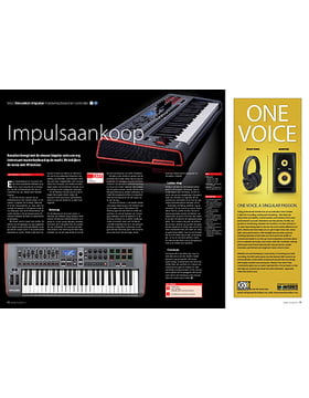 Novation Impulse masterkeyboard en controller