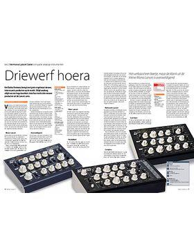 Vermona Lancet Serie compacte analoge instrumenten
