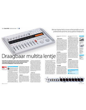 Zoom R16 multitrackrecorder