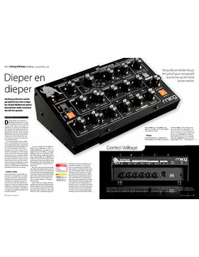 Moog Minitaur analoge bassynthesizer