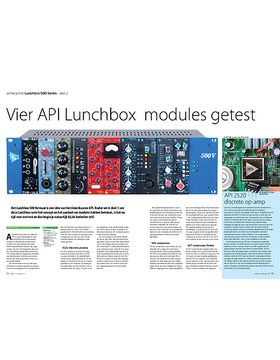 Lunchbox 500 Series - API 512c, 525, 527, 550b