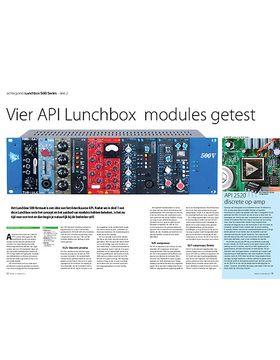 Lunchbox 500 Series - API 512c, 525, 527, 550b