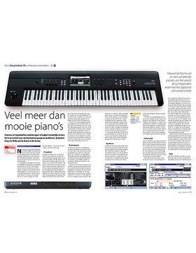 Korg Krome 73 synthesizer/workstation
