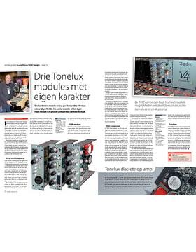 Tonelux EQ5P MP5A microfoonpreamp, equalizer & TX5C compressor
