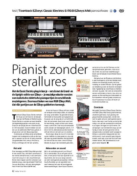 Toontrack EZkeys Classic Electrics & R&B EZkeys Midi pianosoftware